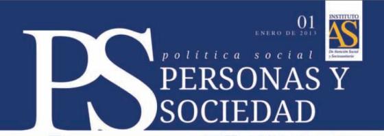 Personas y Sociedad nº 1, enero 2013