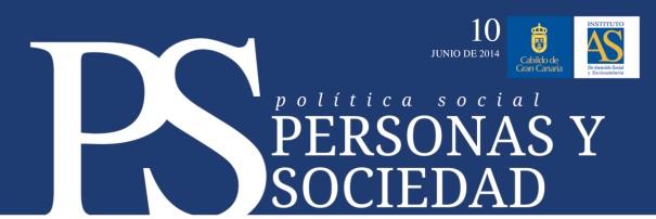 Personas y Sociedad nº 11, mayo 2014