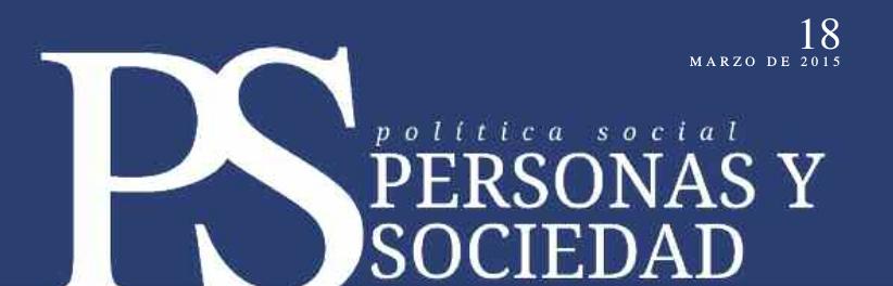 Personas y Sociedad nº 18, marzo 2015