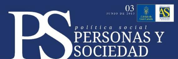 Personas y Sociedad nº 3, junio 2013