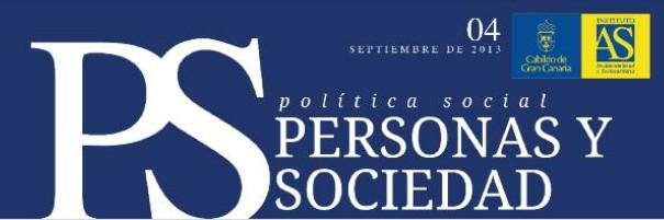 Personas y Sociedad nº 4, septiembre 2013
