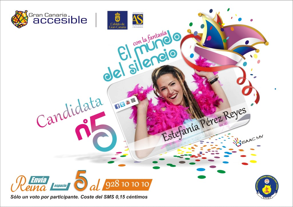 Candidata a Reina del Carnaval 2014