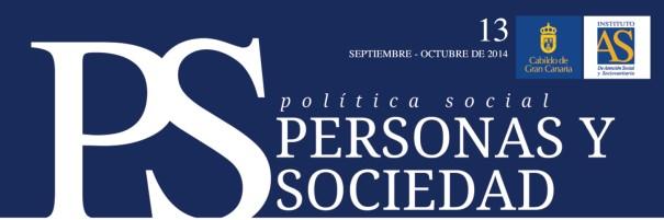Personas y Sociedad nº 13, septiembre-octubre 2014