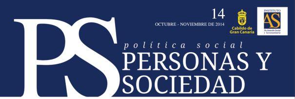 Personas y Sociedad nº 14, octubre-noviembre 2014