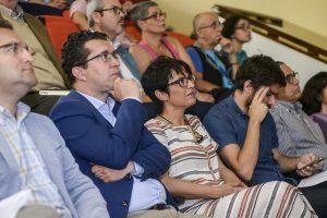 ARUCAS (Canarias). 02/06/2016.- Pleno extraordinario Ayto. de Arucas por la Accesibilidad Universal. Consejera Elena Mañez. Cabildo G.C.