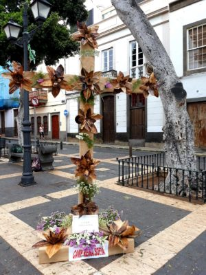 Cruz presentada por el CAMP Reina Sofía al concurso de cruces del Ayuntamiento de Las Palmas de G.C.