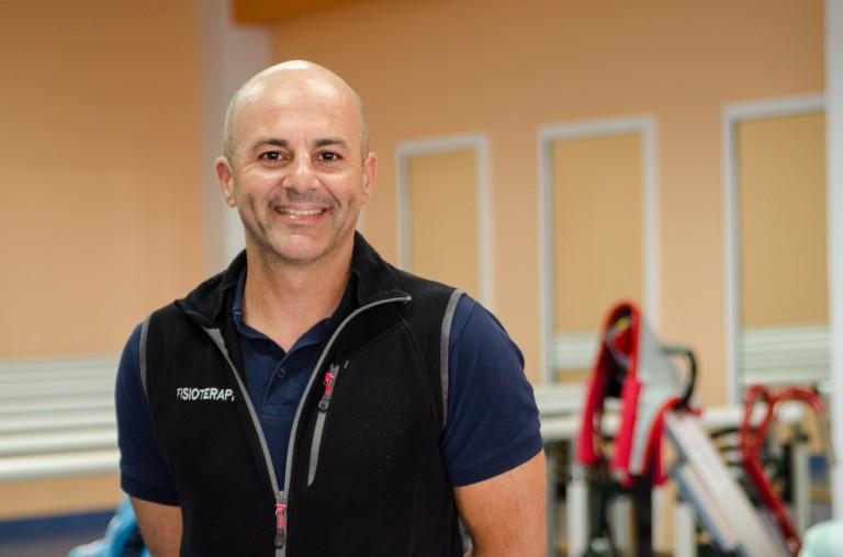 Carlos Henríquez. fisioterapeuta